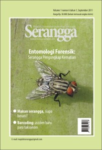 cover majalah SERANGGA September 2011